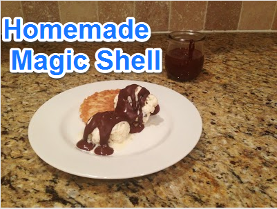 Homemade Magic Shell - Coupon Crazy Girl