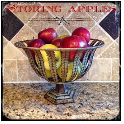 Storing Apples