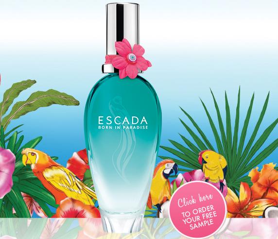 Free escada perfume sample