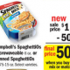 SpaghettiO's only $.38 at Meijer