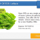 20% off Lettuce with SavingStar
