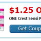 Crest Sensi Toothpaste only $.54
