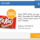 Free Kit Kat from SavingStar