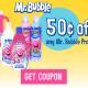 $.50/1 Mr. Bubbles Coupon